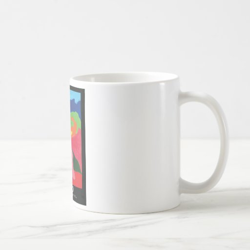 Girl in Mountains from ZermenoGallery.com Coffee Mugs