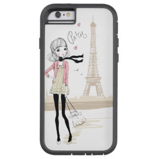 Girl in Paris Tough Xtreme iPhone 6 Case