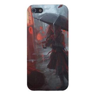 Girl In Rain iPhone 5 Case