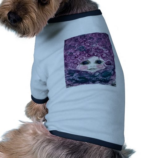 Girl in the nest doggie tee shirt