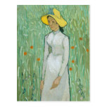 Girl in White by Vincent van Gogh Postcard
