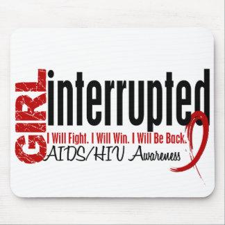 Girl Interrupted 1 AIDS Mousepads