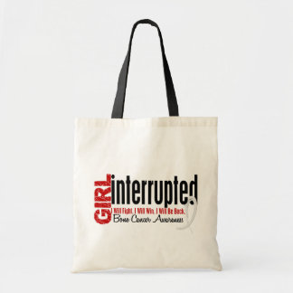 Girl Interrupted 1 Bone Cancer Tote Bags