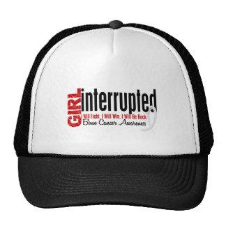 Girl Interrupted 1 Bone Cancer Hat