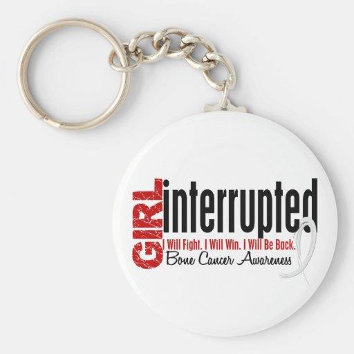 Girl Interrupted 1 Bone Cancer Key Chains
