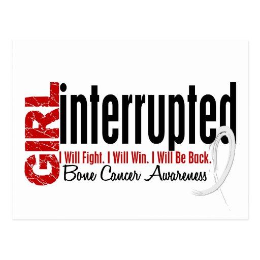 Girl Interrupted 1 Bone Cancer Post Card
