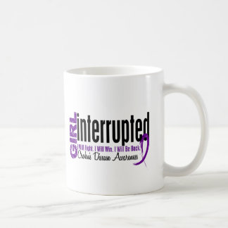 Girl Interrupted 1 Crohn's Disease Basic White Mug