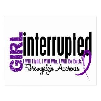 Girl Interrupted 1 Fibromyalgia Post Card
