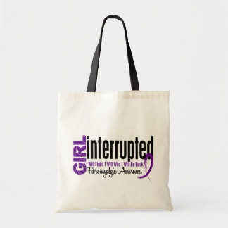 Girl Interrupted 1 Fibromyalgia Canvas Bags