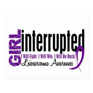 Girl Interrupted 1 Leiomyosarcoma Postcard