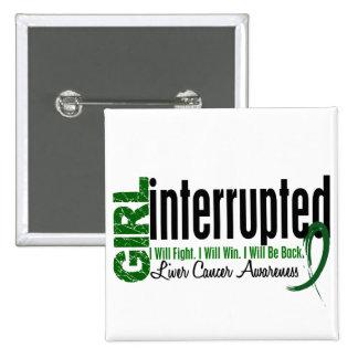 Girl Interrupted 1 Liver Cancer 15 Cm Square Badge