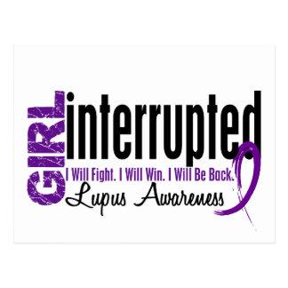 Girl Interrupted 1 Lupus Postcard