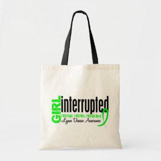 Girl Interrupted 1 Lyme Disease Tote Bag