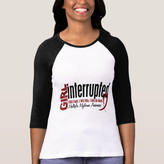 Girl Interrupted 1 Multiple Myeloma T-Shirt