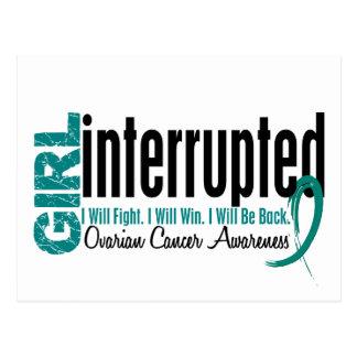 Girl Interrupted 1 Ovarian Cancer Postcard