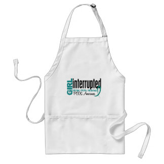 Girl Interrupted 1 PCOS Standard Apron