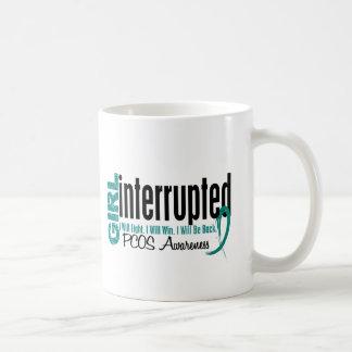 Girl Interrupted 1 PCOS Basic White Mug