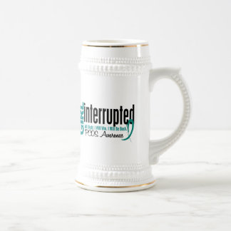 Girl Interrupted 1 PCOS Beer Steins