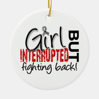 Girl Interrupted 2 Brain Cancer Christmas Ornament