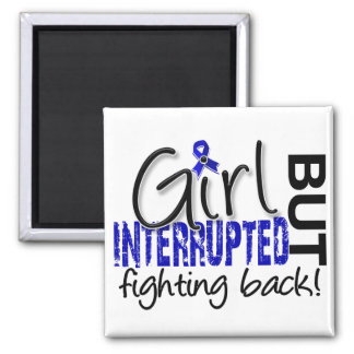 Girl Interrupted 2 CFS Square Magnet