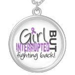 Girl Interrupted 2 Crohn's Disease Round Pendant Necklace
