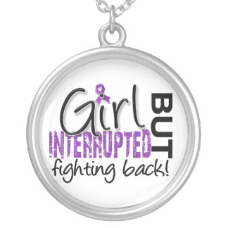 Girl Interrupted 2 Epilepsy Silver Plated Necklace
