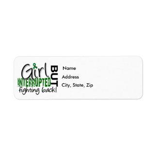 Girl Interrupted 2 Liver Disease Return Address Label