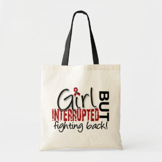 Girl Interrupted 2 Multiple Myeloma Budget Tote Bag