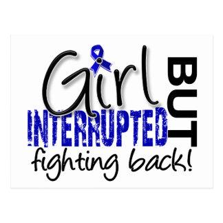 Girl Interrupted 2 Rectal Cancer Postcard