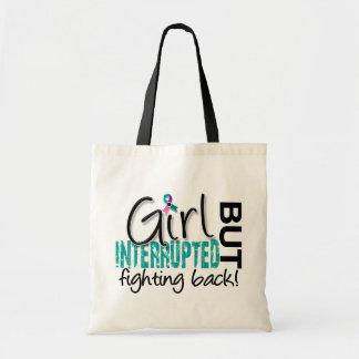 Girl Interrupted 2 Thyroid Cancer Budget Tote Bag