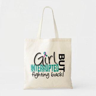 Girl Interrupted 2 Thyroid Cancer Canvas Bag