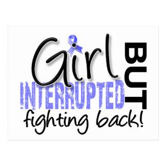 Girl Interrupted 2 Thyroid Disease Postcard