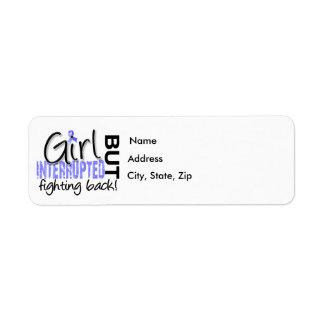 Girl Interrupted 2 Thyroid Disease Return Address Label