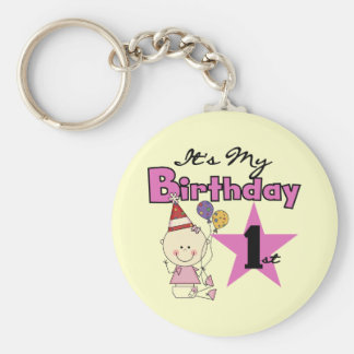 Girl It s My Birthday Tshirts and Gifts Key Chains