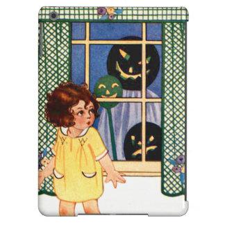 Girl Jack O' Lantern Pumpkin Trick Or Treat iPad Air Covers