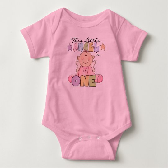 Girl Little Angel 1st Birthday Tshirts and Gifts