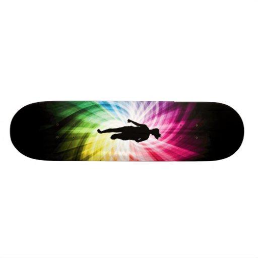 Girl Marathon Runner Skateboard Deck