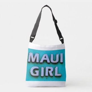 girl maui green tote bag
