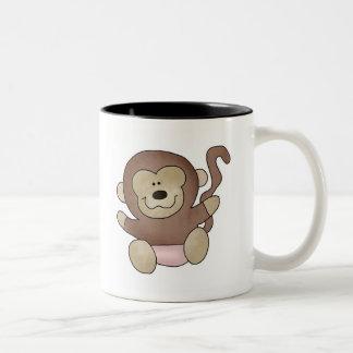 Girl Monkey Coffee Mug