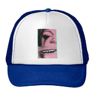 girl & mouth cap