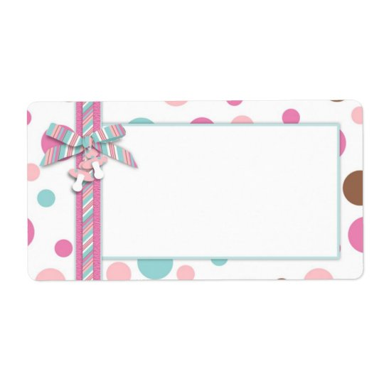 Girl Name Tag FP Shipping Label