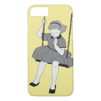 Girl on a Swing iPhone 8/7 Case