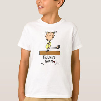 Girl on Balance Beam T-Shirt