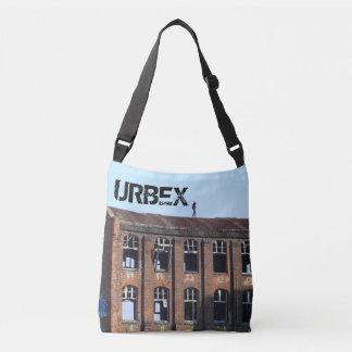 Girl on the Roof 01.3.T, URBEX Crossbody Bag