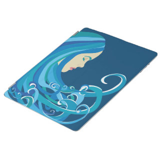 Girl on The Wave iPad Case iPad Cover