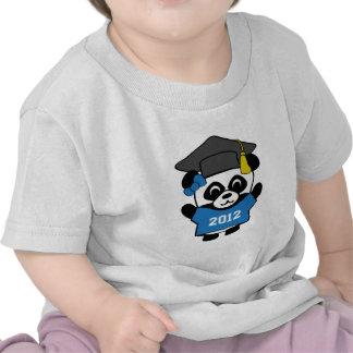 Girl Panda Blue & White 2012 Grad T-shirts
