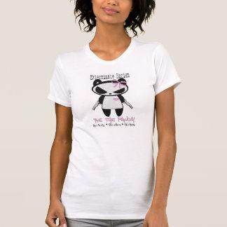Girl Panda Exterminate Racism T-Shirt