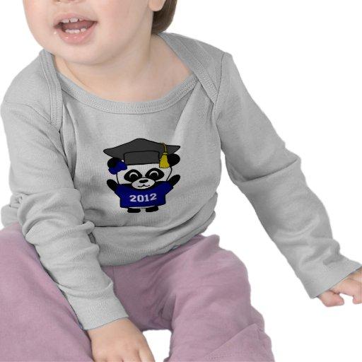 Girl Panda Navy & White 2012 Grad Tees