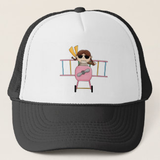 Girl Pilot T-shirts and Gifts Trucker Hat
