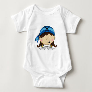 Girl Pirate Babies T-Shirt